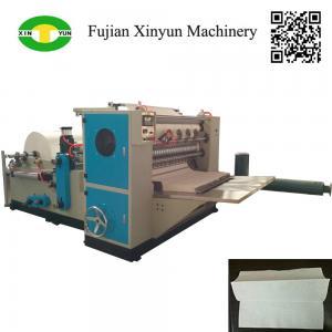 China High speed automatic three fold hand towel paper making machine on sale