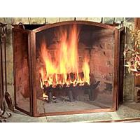 China copper fireplace screen on sale
