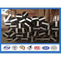 Quality Q345 Steel Material 40FT Hot Dip Galvanized Electric Steel Pole wholesale