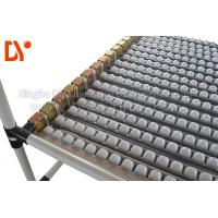 Plastic Wheel Sliding Roller Track , Roller Track Conveyor Rust Proof