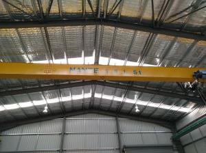 Quality Electric Single Girder Overhead Bridge Cranes Traveling Type LDX3t-18m wholesale