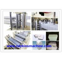 China High Speed 2 Layer Napkin Folding Machine To Produce Napkin Tissue on sale