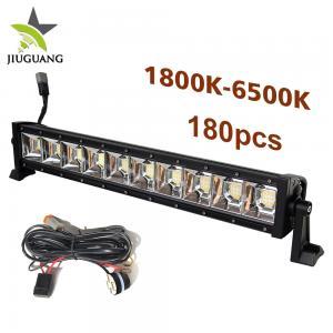 Quality Single Row Auto Led Light Bar Super Bright Adjustable Color Temperature wholesale