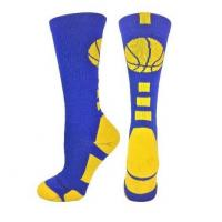 Quality Basketball Logo Crew Socks (over 15 colors) wholesale