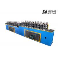 Quality Blue Roller Shutter Door Roll Forming Machine Continuous PU Sandwich Panel Production Line wholesale