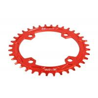 Buy cheap Red Anodized Bike Sprocket / Freewheel CNC Machining Parts for Road Bicycle from wholesalers