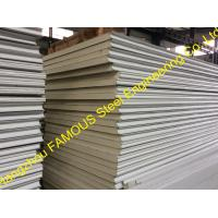 Quality Structural Polyurethane Sandwich Panels Soundproof With Color Steel wholesale