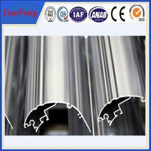 Quality industrial extrusion aluminium profile, OEM anodized aluminum extrusion profile wholesale