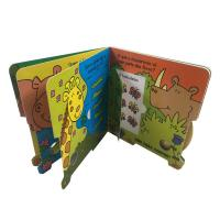 China Full Color Glossy Cardboard Custom Board Book Printing For Children Learning on sale