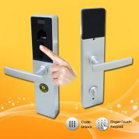 Quality LCD Display Digital Biometric Fingerprint Door Lock with Remote Control Function wholesale