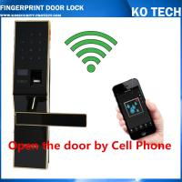 Quality KO-ZL901 High Tech Pad Wireless Control Biometric Fingerprint Door Lock wholesale
