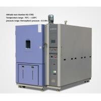 Quality Low Voltage High Altitude Test Chamber / Environmental Test Chamber For Aerospace wholesale