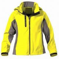 Quality Women's outdoor jacket with 3-layer soft shell fabric wholesale