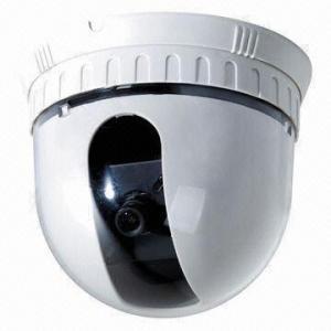 China 1/3-inch Sony Color CCD CCTV Pan-tilt Dome Camera, 420TVL, 0.8Lux/F1.2, 3.6/6mm Lens, DC12V on sale