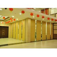 Quality Steel Movable Partition Office Hanging Sliding Door  For International Convention Centers wholesale