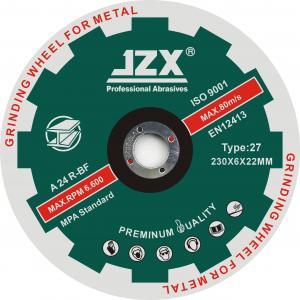 Quality 230x6.8x22.23 Inox Depressed Metal Grinding Discs Type 27 wholesale