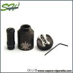 Quality Classic Black Nimbus Vapor E Cigarette RDA Dual Coil , Dry Herb Atomizer wholesale