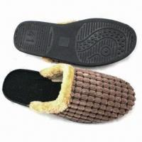 Quality Suede Slippers for Men, Customized Colors are Accepted wholesale