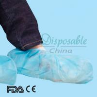 Quality Blue Disposable Shoe Cover with Elastic in CE,ISO13485 Standard wholesale