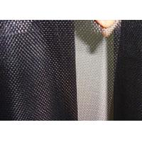 Quality Low Carbon Black Coated Hardware Cloth Low Elongation High Tension wholesale
