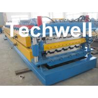 Quality High Grade 45# Axis Double Layer Roll Former / Roll Forming Machine For Roofing Sheets wholesale