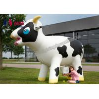 Quality Customized Inflatable Farm Animals Large Inflatable Cow Advertising Toy wholesale