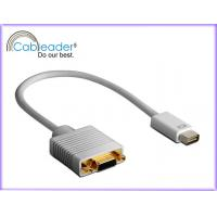 China Cableader Digital Life High Performance DVI-D Monitor Cable Mini DVI To VGA male cable on sale