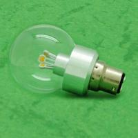 Quality Dimmable LED Candle Bulb with Epistar Chip, Aluminum/Glass Housing, 3/4W Power and CE Approval wholesale