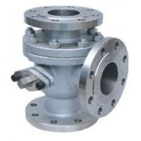 Handle 3 Way Ball Valve For Chemical , 2500LB API 607 API 6D Stainless Steel Ball Valve