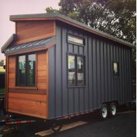 Quality Mobile Prefab Light Steel Tiny House With Wheels In AU/EU/US Standard wholesale