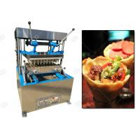 Quality Semi Automatic Pizza Cone Machine For Making Cone Shaped Pizza CE Certification wholesale