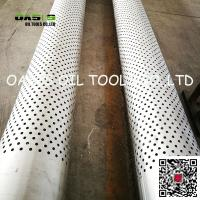 "Quality Stainless Steel 316L 16"" Perforated Casing Pipe for Horizontal Well wholesale"