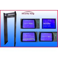 Quality IP65 Water Proof Door Frame Airport Security Metal Detectors with Bilingual system wholesale