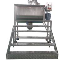 Quality Cosmetic Powder Double Ribbon Mixer Machine High Speed With Safety Switch wholesale