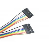 China Male To Male Plug Custom Ribbon Cables , 300 Volts Laptop Ribbon Cable on sale