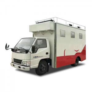 Quality Customized JMC Mobile Cooking Trucks , Street Food Truck For Dessert / Cafes / Boissons wholesale