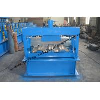 Quality Galvanized Steel Floor Deck Roll Forming Machine With Coiler Car ,  Floor Tile Making Machine wholesale