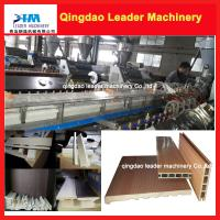 China PVC UPVC window making machine, pvc profile making machine, wood plastic composite making on sale