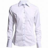 China Ladies long-sleeved shirt/casual blouse/work shirt/occasion blouse on sale