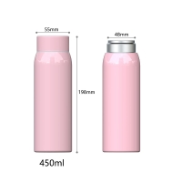 Quality BSCI Anti Slip 15 Ounce Stainless Steel Vacuum Flask wholesale