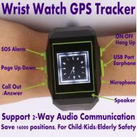 Quality GPS301 Child Kids Safety Watch Mobile Phone LBS GPS Tracker W/ SOS & 2-Way Communication wholesale