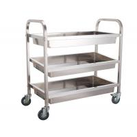 Cheap Multi Layer Bakery Rack Trolley Food Cart Four Wheels For Kitchen Practical Use Push Smoothly for sale