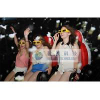 Quality High-end Leather 5D Theater System 5D Movie Chair With Bubble Effect wholesale