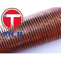 China C10200 Cold Drawn Seamless Low Fin Tube For Boiler And Heat Exchanger on sale