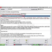 Cheap Offline Coding And Added W204 MB Star C3 With HDD Software 2014.12 Xentry+DAS for sale
