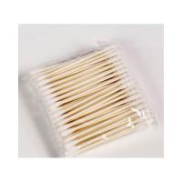 Quality Soft Texture Medical Cotton Swab , Cotton Applicator Sterile No Hurt To Skin wholesale