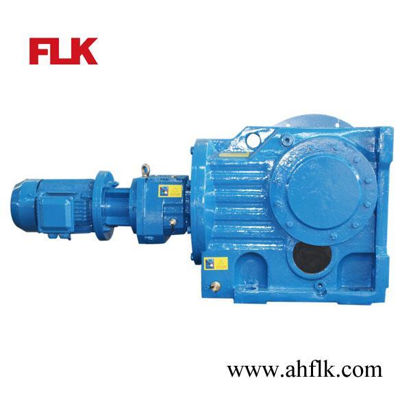 Cheap helical bevel hollow shaft gear motor 11kw output for Hollow shaft gear motor