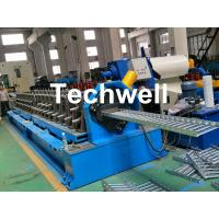 Quality 15 KW Forming Motor Power Cold Roll Forming Machine For Producing Steel Cable Tray Profile Sheets wholesale
