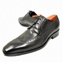 China Men's Dress Shoes, Casual, Made of First Grade Genuine Leather on sale