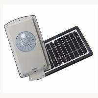 Quality 8w All In One Solar Street Courtyard Light 2835 Pure White 5700-6500 MCD wholesale